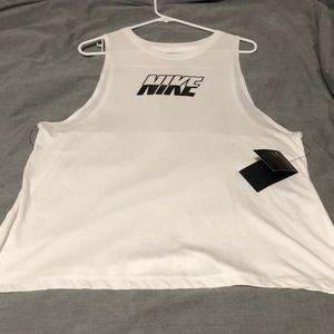 Nike loose fit tank top